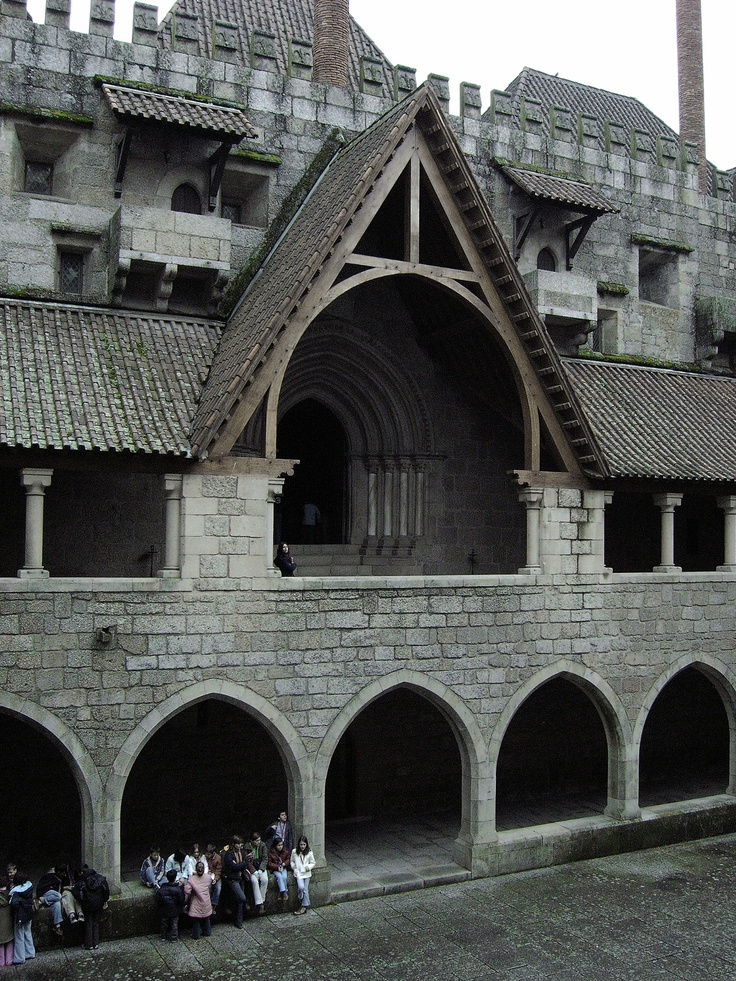 Guimarães, Palace of the Dukes of Braganza | #Guimaraes #Northern_Portugal #Portugal