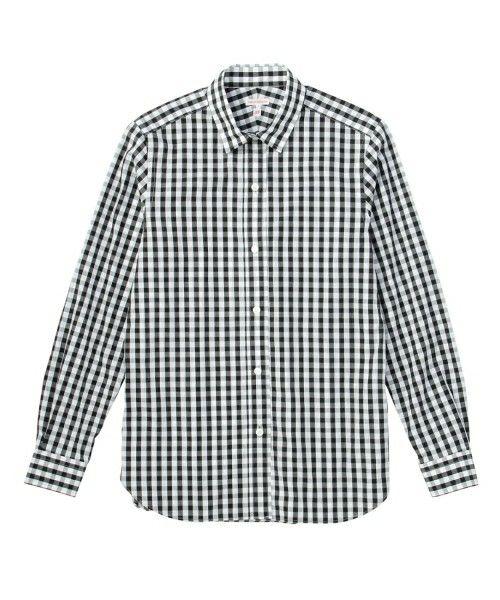 DRESSTERIOR(LADIES)(ドレステリアレディス)のギンガム/ロンストシャツ(シャツ/ブラウス) ブラック