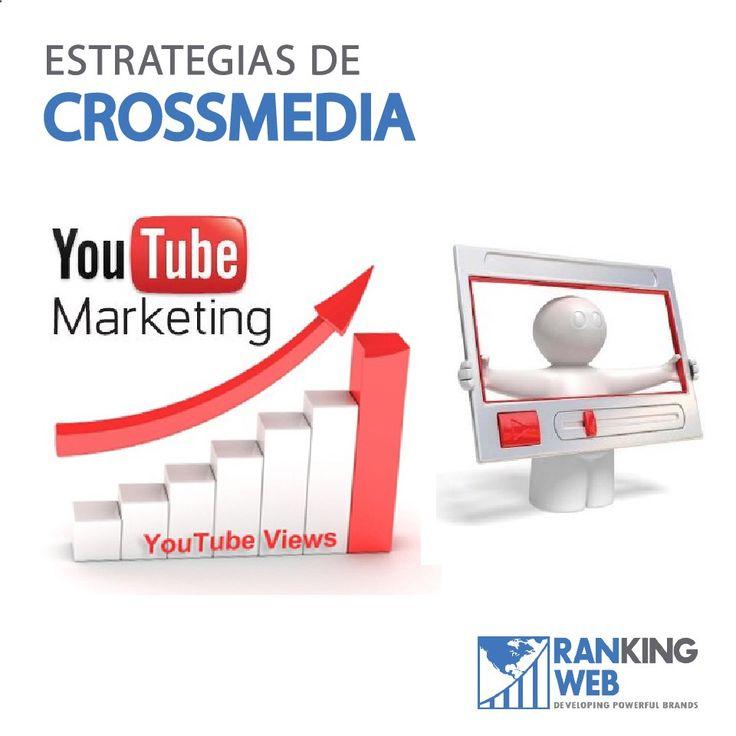 Maximiza la visibilidad de tus campañas de #MarketingDigital con estrategias #crossmedia, que ayudan a intercambiar tráfico entre tus principales canales de difusión online: desde Facebook hacia tu sitio web o a Twitter, YouTube, etc., y también de manera inversa.