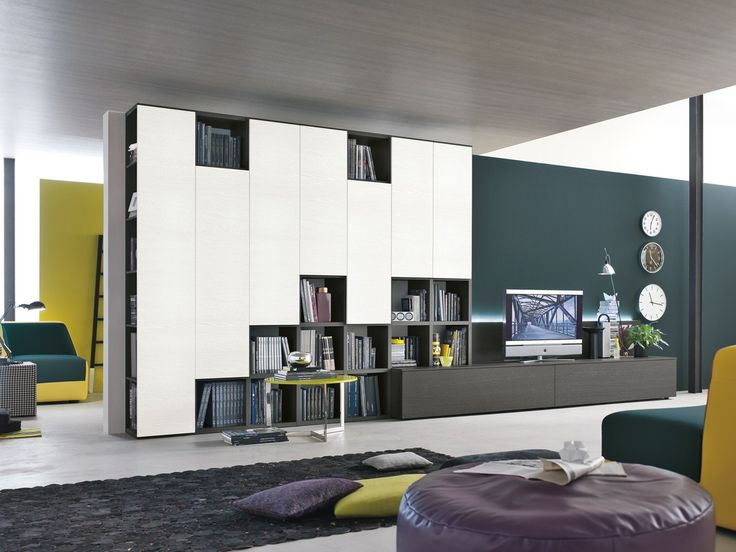 Media Display and Bookcase