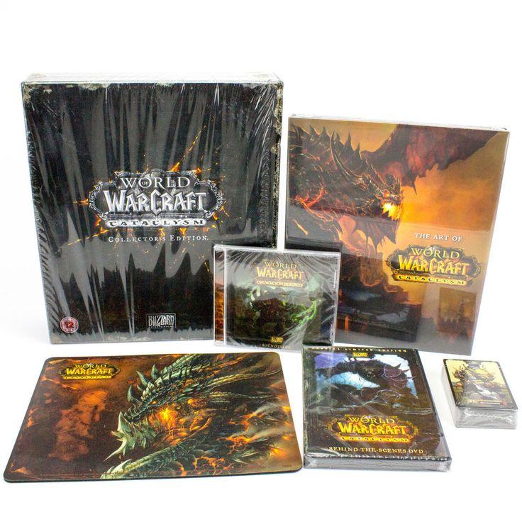 World of Warcraft: Cataclysm Collectors Edition, EU (UK), 2010 - NO KEY