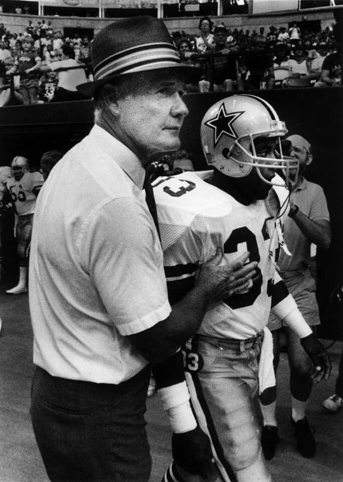 Coach Landry and Tony Dorsett