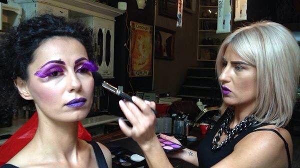 Creative Makeup -Suzie Stefanidou www.suzimakeup.com