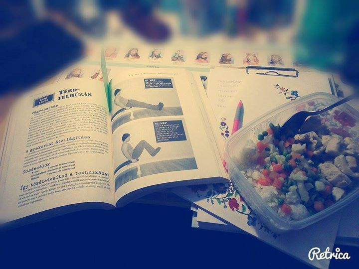 #workout #food #read
