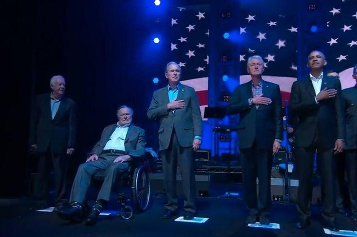 EN VIVO Ex presidentes de EU se unen en concierto por víctimas de huracanes - Publimetro México