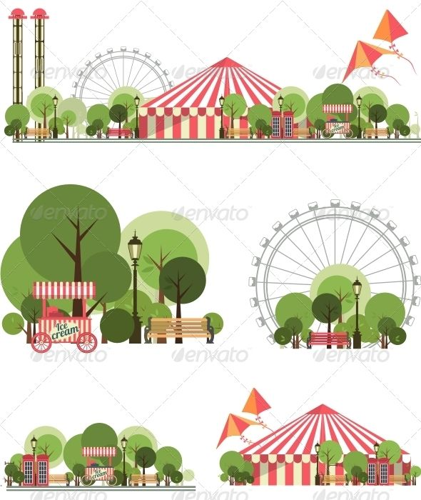 Carnival City Park #graphicriver