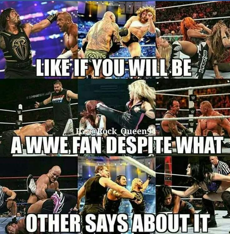 Love all wrestling whether its WWE, TNA, ROH, New Japan, Lucha Underground or other promotions tho i do watch WWE/NXT the most