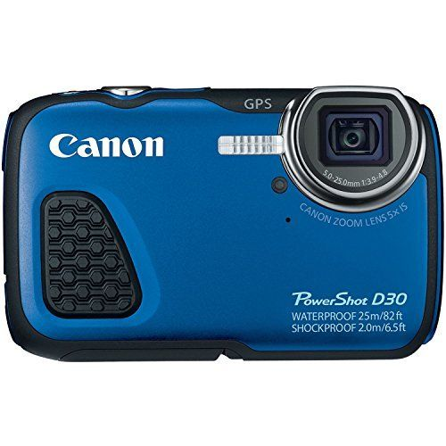 Canon PowerShot D30 Waterproof Digital Camera, Blue review - http://www.bestseller.ws/blog/camera-and-photo/canon-powershot-d30-waterproof-digital-camera-blue-review/