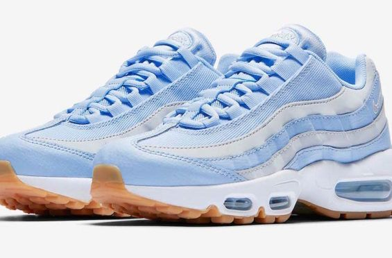 c73044970bb Nike Air Max 95 Light Blue Grey Coming Soon There won t be a shortage