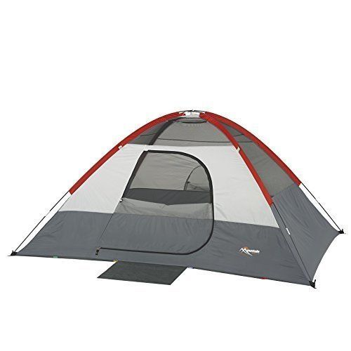 Compact Sport Dome Camping Tent Large Door Travel Trip Outdoor 4 Persons Family #SportDomeCampingTent