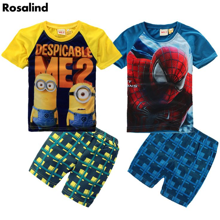 Here is a sneak peak at what's new and fresh at Costbuys today Retail boys cloth... see for yourself and don't ever doubt again http://www.costbuys.com/products/retail-boys-clothing-set-despicable-me-2-minion-childrens-suit-spider-man-sport-suit-fashion-boys-clothes-casual-boy-outfits?utm_campaign=social_autopilot&utm_source=pin&utm_medium=pin