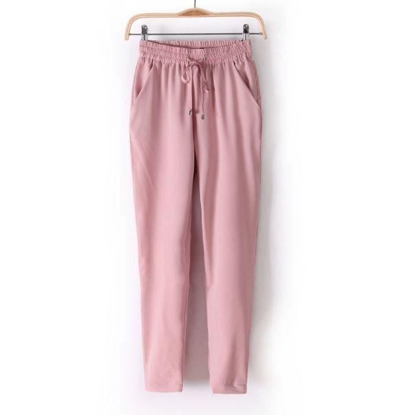 Módní dámské barevné volné pohodlné kalhoty růžové – Velikost L Na tento produkt se vztahuje nejen zajímavá sleva, ale také poštovné zdarma! Využij této výhodné nabídky a ušetři na poštovném, stejně jako to udělalo již …