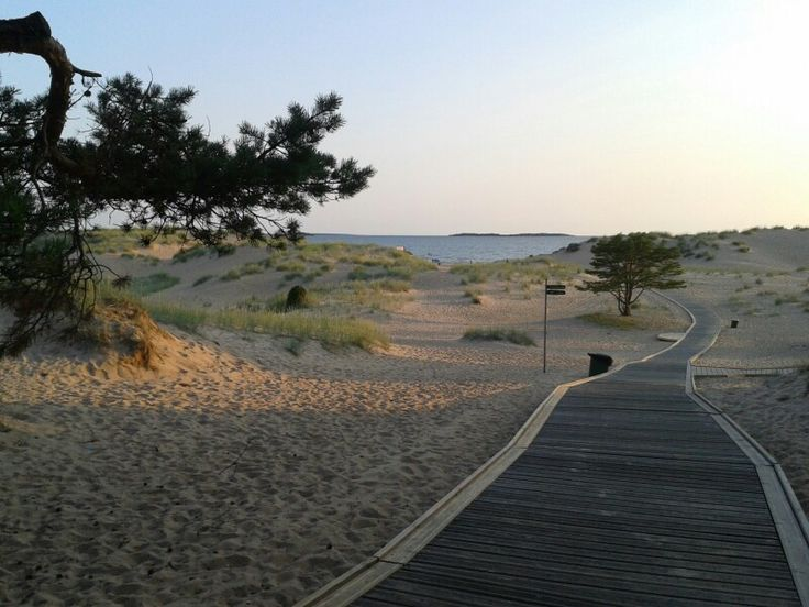 Yyteri beach, Pori, Finland...the scent of the sweet pines mixing with the salty sea air...heaven