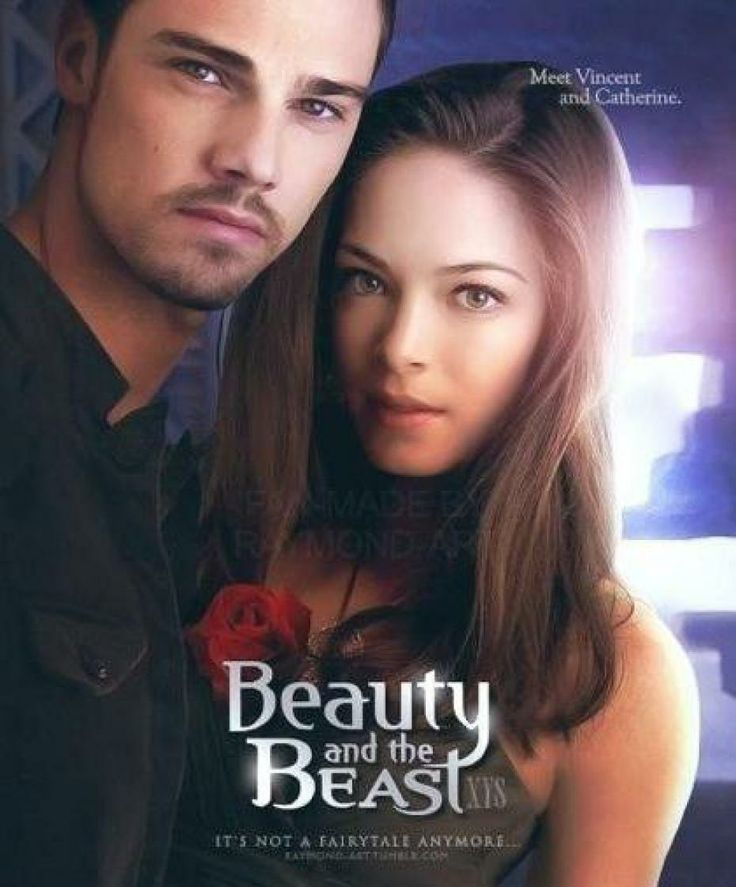 Beauty and The Beast. I love Vincent! He is so cute