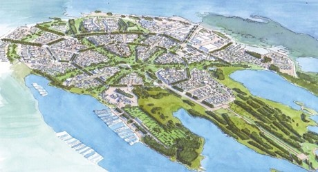smart growth: Oslo's plans to convert airport fields to residential housing, business, recreation, and conservation areas. Note the conclusion: plans to proceed are dependent upon whether vital ecosystem services will be disrupted. Good work, Norway; I'm proud to claim you in my national heritage.