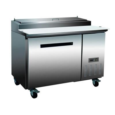 Maxx Cold X-Series 12 cu. ft. One Door Pizza Top Refrigerator in Stainless Steel