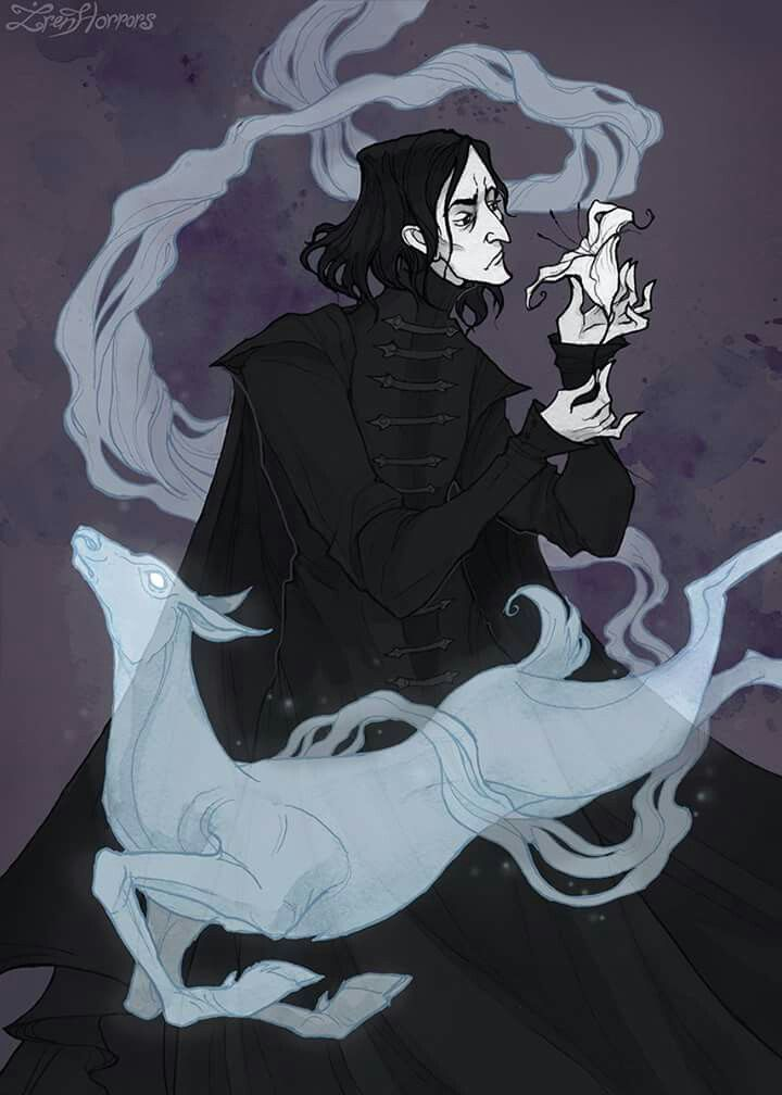 After all this time? Always... #illustration #harrypotter #snape #severussnape #patronus #irenhorrors