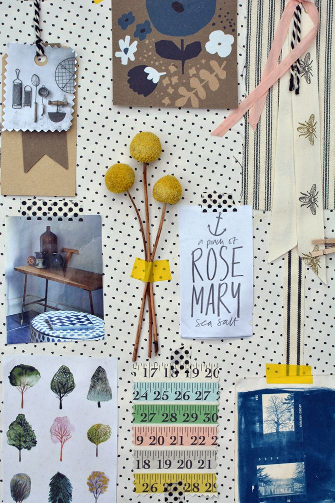 Organic Inspiration Mood board | Rosehip