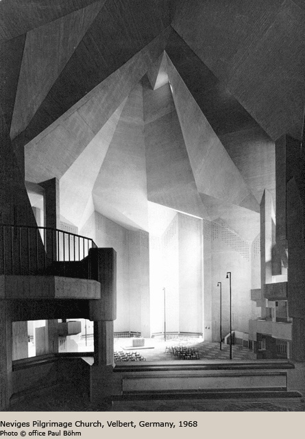 Neviges Pilgrimage Church Velbert Germany 1968 By Gottfried Bohm