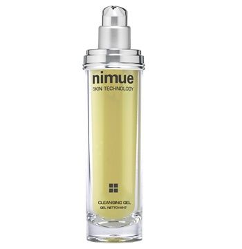 Problematic Range Product 1: Cleansing Gel. The first step in the treatment of skin health. Formulated as a soap free creamy-gel 2 in 1 cleanser. Contains Alpha Hydroxy Acids and Vitamin A & E Ester. Available as a refill. 140ml. Nimue Skin Technology.