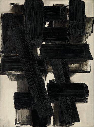 """""""Peinture"""" by Pierre Soulages"""