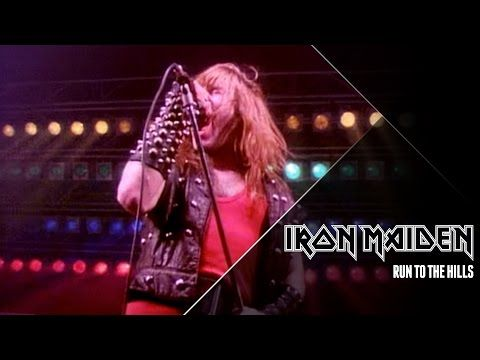 Iron Maiden - Run To The Hills (Official Video) - YouTube