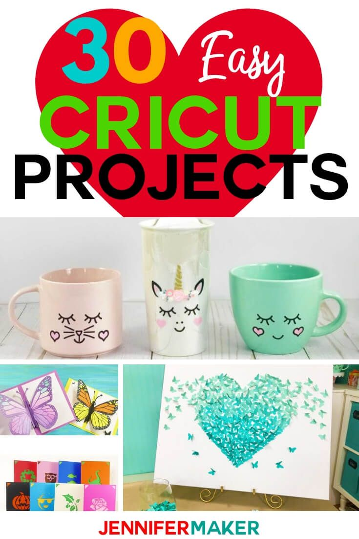 Easy Cricut Project Ideas Fun And Free Cricut Explore Projects