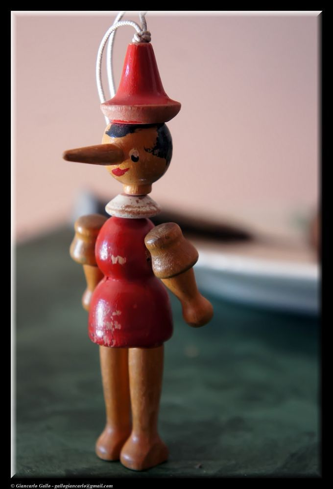 Pinocchio by Giancarlo Gallo