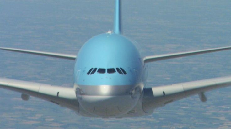 Amazing shots of Airbus A380 (Korean Air) in HD