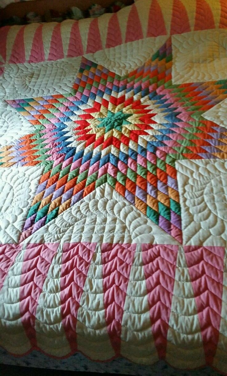 1000 Images About Star Lone Broken 8 Point Quilt On Pinterest