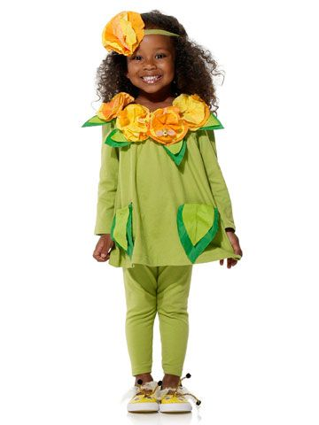 Flower Power Halloween Costume...flowers made fro paper-cone coffee filters