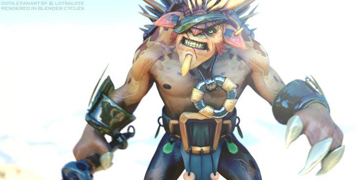 Bristleback 3D renders - Imgur