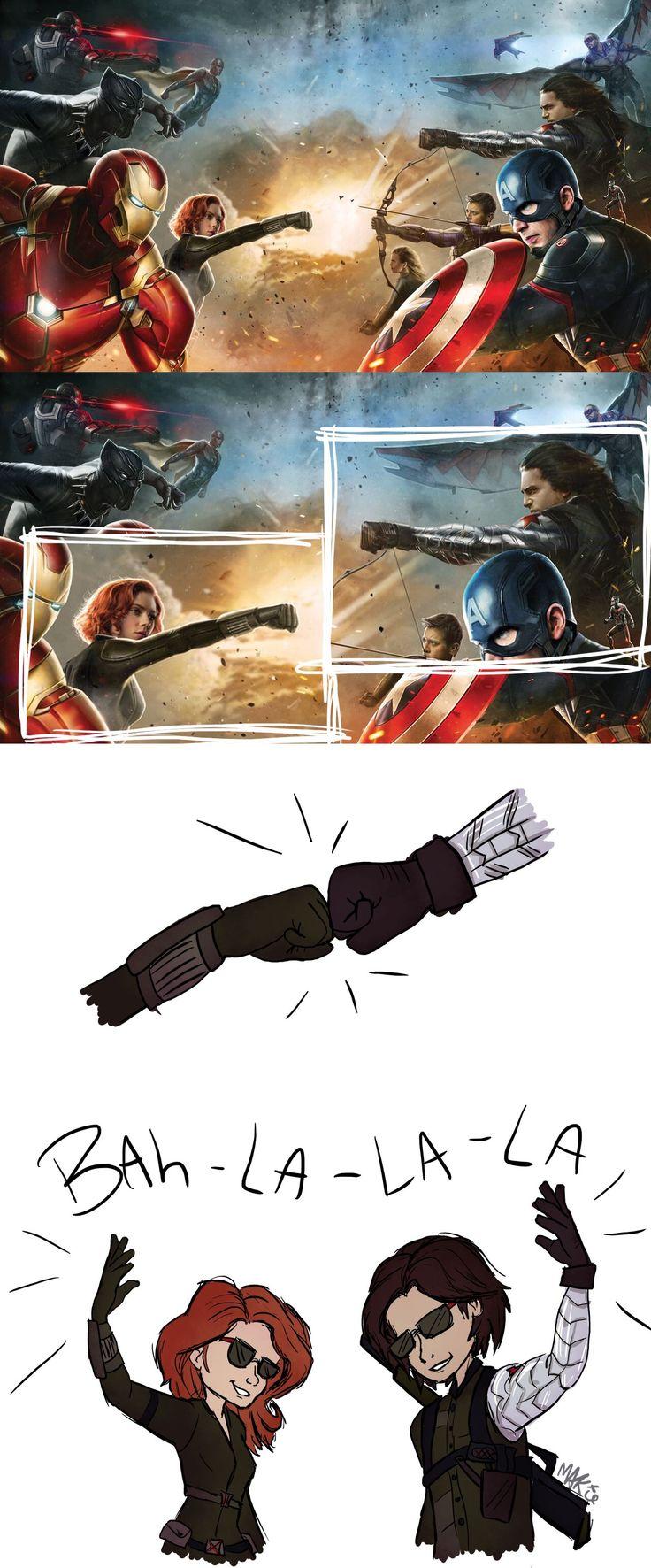 Wait a sec… Civil War