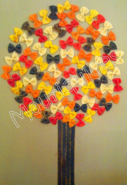 massinhas pintadas com marcador Mauriquices: Quando chega o Outono...