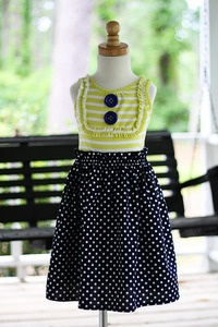 The girls are going to look adorable in this! @Mindy Leatch for the girls! So cute!Bags Tanks, Girls Generation, Paper Bags, Baby Needs, Sewing Dresses Inspiration1, Girls Dresses, Tanks Dresses, Adorable Bibs, Old Navy