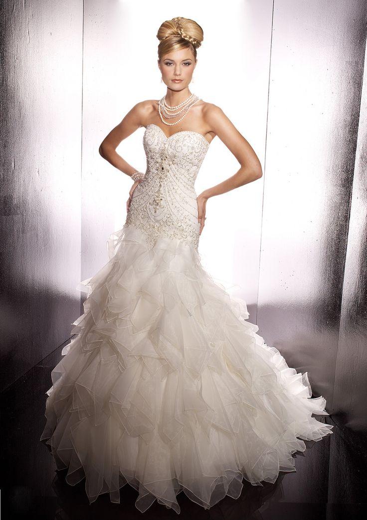 61 best Wedding Dresses images on Pinterest   Wedding dressses ...