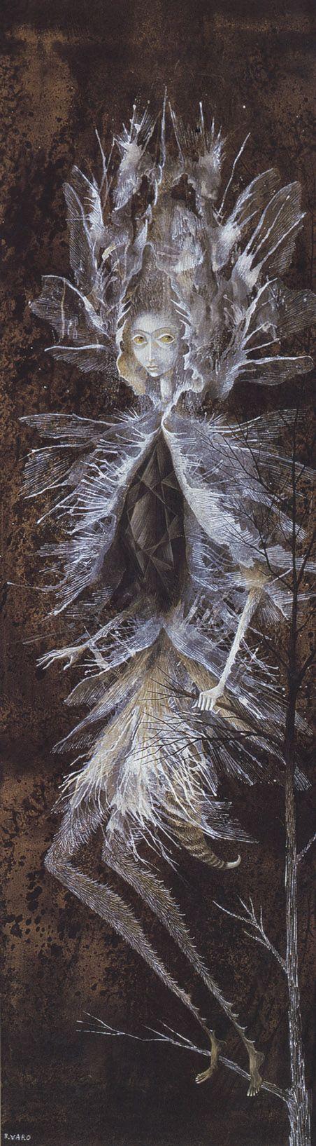 Remedios Varo, no es considerada como simbolista, se le asocia al surrealismo, pero por lo pronto estará  en este board.