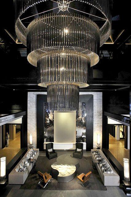 Le Meridien Chiang Rai Resort, Thailand—Hotel Lobby