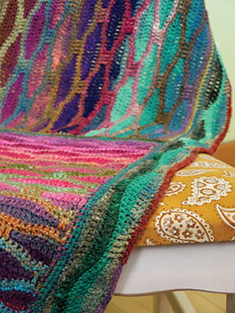 Ravelry: Chameleon Baby Blanket by Tracy St. John