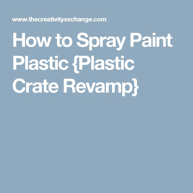 17 best ideas about spray paint plastic on pinterest spray painting. Black Bedroom Furniture Sets. Home Design Ideas