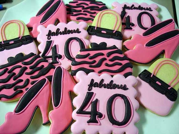 Th Birthday Cookie Cake Designs