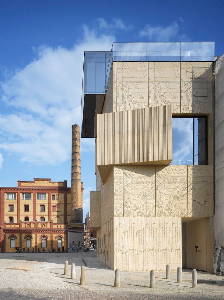 Museum for architectural drafting, Berlin