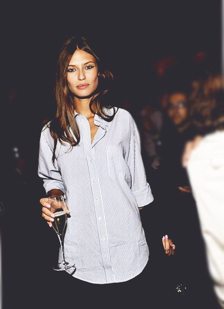 : Fashion, Casual Style, Biancabalti, White Shirts, Boyfriends Shirts, Men Shirts, Buttons, Hair, Bianca Balti