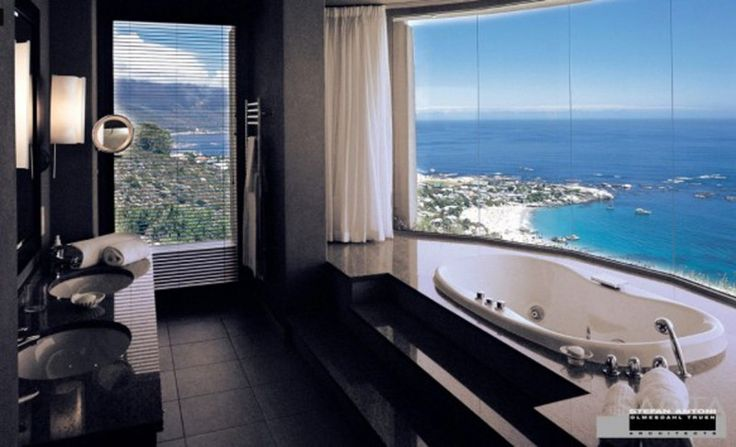 panoramic penthouse living space picturesBathroom Design, Tubs, Dreams Home, Living Spaces, Beach Bathroom, Dreams Bathroom, Beautiful Bathroom, House, Ocean View