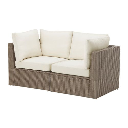 ARHOLMA  Sofa combination, brown, beige  $400.00  Article Number: 299.041.16