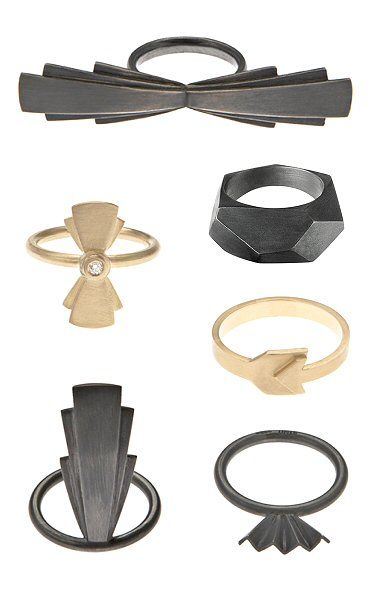 TheCarrotbox.com modern jewellery blog : obsessed with rings // feed your fingers!: Stinne Holm / Janni Krogh