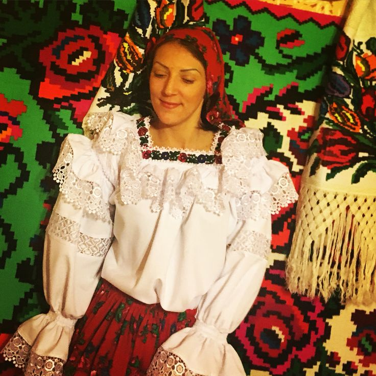 Romanian girl and traditions