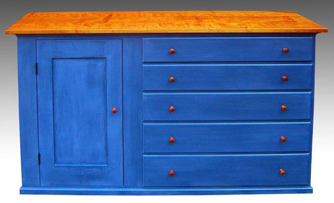 shaker furniture to fit painted dresser