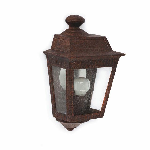Aplique rústico para instalación en jardín #jardin #clasica #iluminacion #lamparas