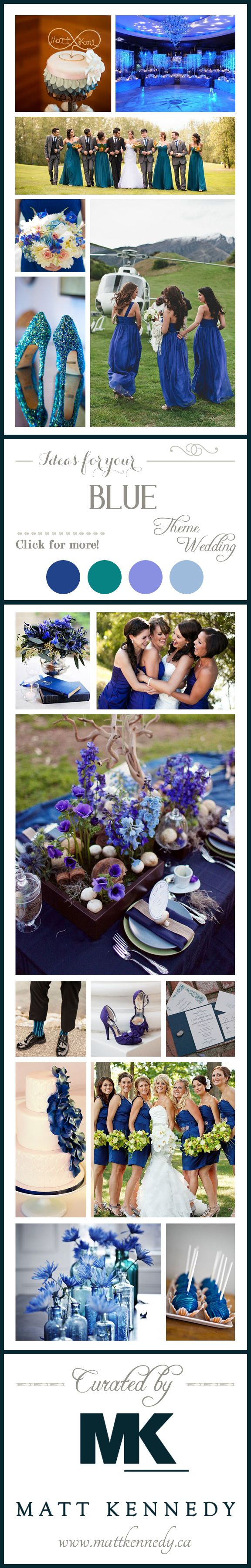 So many fabulous ideas for your blue theme wedding!! Blue wedding shoes, bridesmaid dresses, guest favours, and more!!